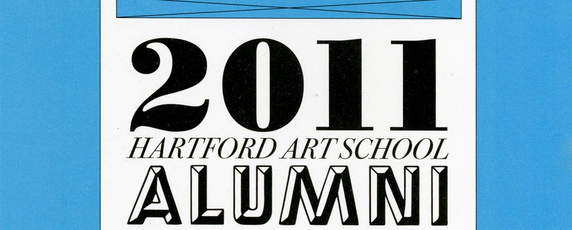 Postcard promoting the 2011 Hartford Art School Alumni Juried Exhibition