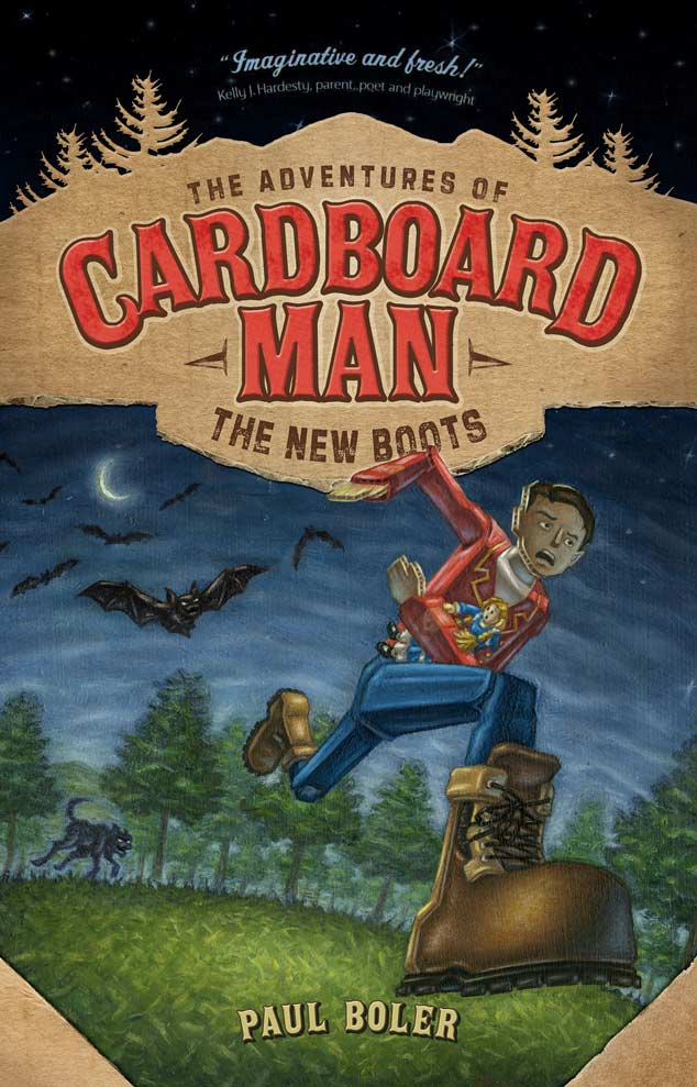 Cover for the Adventures of Cardboard Man: The New Boots